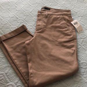 Ralph Lauren tan trousers size 8